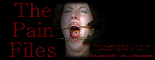 BDSM At the pain files
